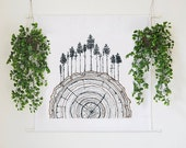 Family of Trees | Wall Tapestry