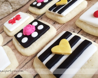 EDIBLE (Fondant Toppers) - Kate Spade Inspired