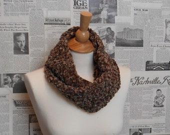 Rescue Scarf - Brown Cheneille