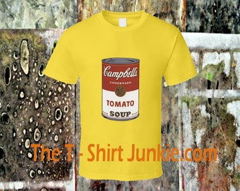 Happy Soup Andy Warhol Inspired Colorful TShirt