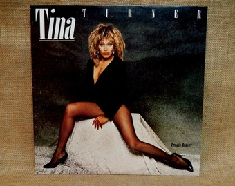 TINA TURNER - Private Dancer - 1984 Vintage Vinyl Record Album