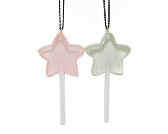 Star Lollipop Necklace