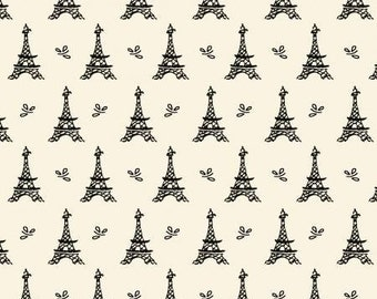 Springs Creative Fabric, Eiffel Towers, Quilting Fabric / Cotton