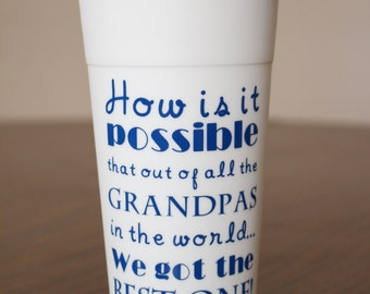 Best Grandpa Travel Coffee Mug Personalized