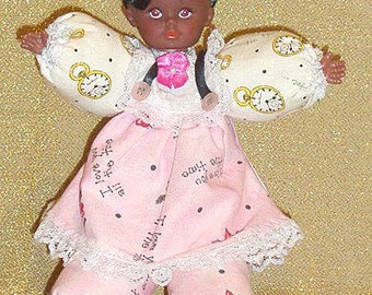 Valissa, I love you doll, African American doll, Black doll, special doll, unique doll