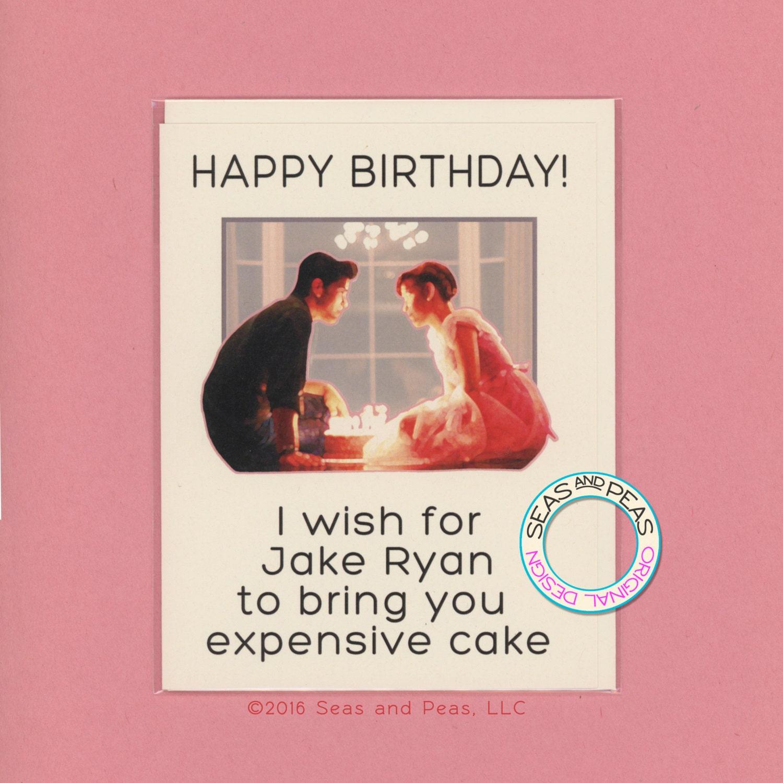 JAKE RYAN BIRTHDAY Birthday Card Funny Birthday Card