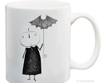 Gone Batty Mug - Kitchen - House-ware - Coffee - Gift - Halloween - Mug - Fall - Office