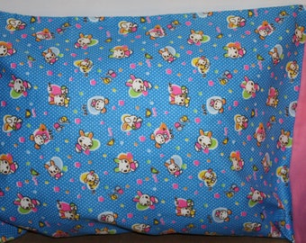 Flannel Pillowcase   Toddler/Travel or Standard Size