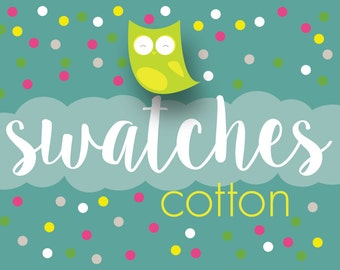 COTTON Swatches - Choose Your Collection - FREE USA Shipping