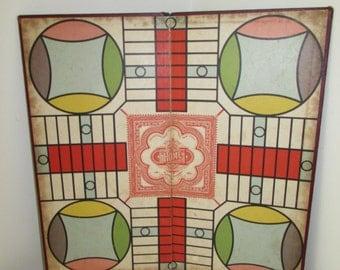 Vintage 1938 Parcheesi Board Game