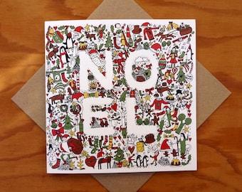 NOEL Christmas Card 2014 SALE!