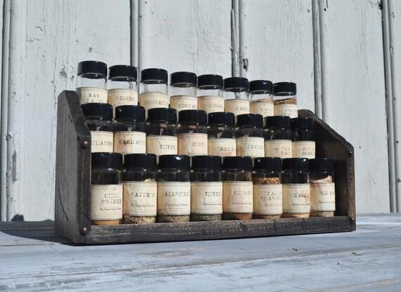 Compact Spice Rack Bleacher Style