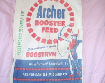 Feedsack, Archer Booster Feed,Double-Sided