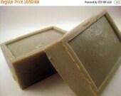 ON SALE Mediterranean Soap - Sea Mud Soap - Handmade Soap Bar - VEGAN castile soap - Fresh Scent Soap