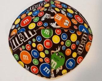 M&M Saucer Kippah Yarmulke Candy