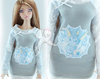Vaporeon Inspired F60 SD Tunic Top Dress