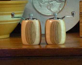 Handmade Wooden Salt and Pepper Grinders - Handmade Wooden Salt and Pepper Mills – Wood and Ceramic Grinder-Wood and Ceramic Mills-SPM290