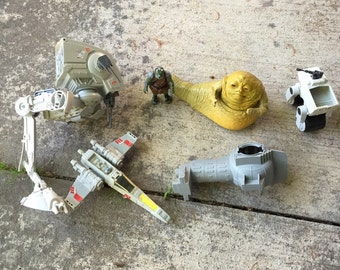 Star wars toy lot