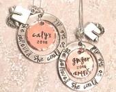 Personalized Graduation Necklace, High School Graduation Gift, College Graduation Gift, Graduation Necklace, natashaaloha