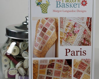 Quilt Sewing Pattern - The Pattern Basket - Paris