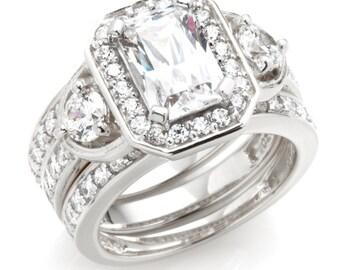 3 Ring Wedding Set