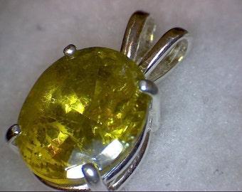 Beautiful Sphalerite Pendant