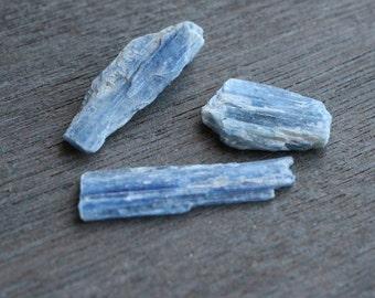 Blue Kyanite Blade set of 3 #4766