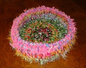 Crochet Decorative Organizer Bowl or Small Pet Bed