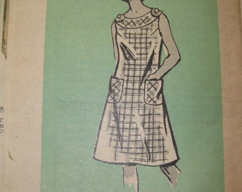 1960's New York Post Mail Order Pattern 4785 Dress Size 40