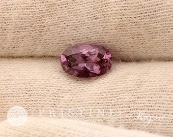 Purple Sapphire Oval Wholesale  1.40 Carats Gemstone for Engagement Ring September Birthstone