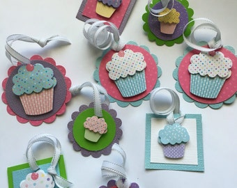 9 Cupcake Gift Tags