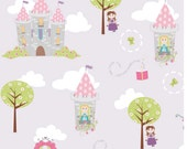 Riley Blake Dream and a Wish Main Fabric in Lavender