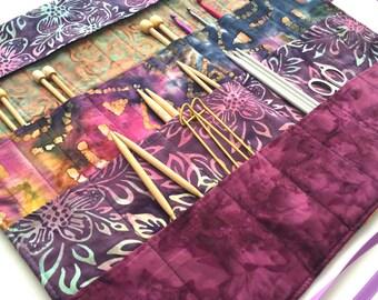 Large Knitting Needle Case/Organizer           (item K116)