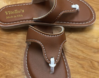 Brown Ladies Flip Flop / Sandal