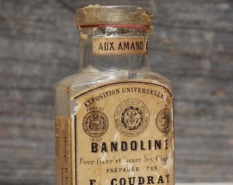 Bandoline Bottle, E.C. Coudray