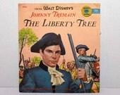 Walt Disney's Johnny Tremain  The Liberty Tree -- 45 Record  1950's