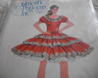 Square Dance Dress Pattern