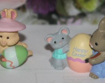 Vintage Hallmark Spring / Easter Merry Miniatures  1980's 1990's