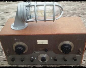 Radio Lamp Etsy
