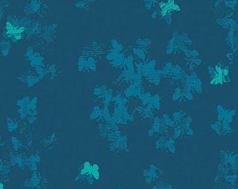 Avant Garde Neo-Flies Profound Katarina Roccella, Art Gallery Fabrics, 100% Cotton Fabric, AVG-28904
