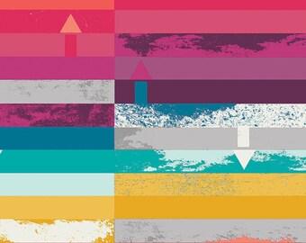Avant Garde Steps Above Prism, Katarina Roccella, Art Gallery Fabrics, 100% Cotton Fabric, AVG-28900