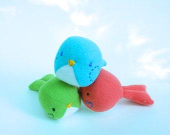 Bird Rattle, organic toy, baby rattle, rattle, organic baby toy, plush toy, plush rattle, organic rattle, handmade toy, organic baby rattle
