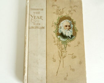 Through the Year with Longfellow Book: Daily Quotes