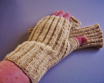 Hand warmers, Texting gloves, Fingerless mitts, wrist warmer, lightweight, one size fits most