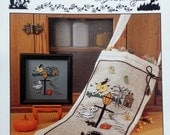 50% OFF Sigrid Designs Thimb-Elena HALLOWEEN STOCKING The Tales Of Haunted Hollow - Counted Cross Stitch Pattern Chart