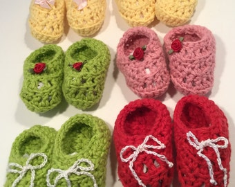 Crotched Baby Booties