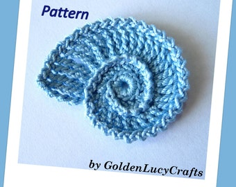 Sea Shell Crochet Pattern