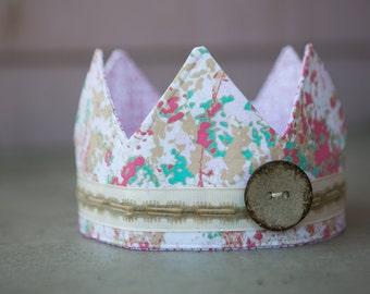 Fabric crown - Princess Avalon