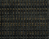Woven Soft Striped Chenille Upholstery Fabric - Economical, Durable, Easy Clean - Color: Gable Coal - Per yard