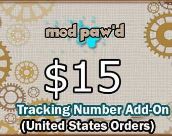 Tracking Number Add-on  (United States Customers only)